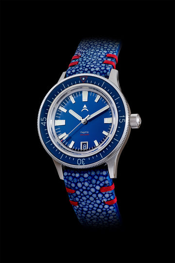 Stingray Watch Strap 20mm | Blue