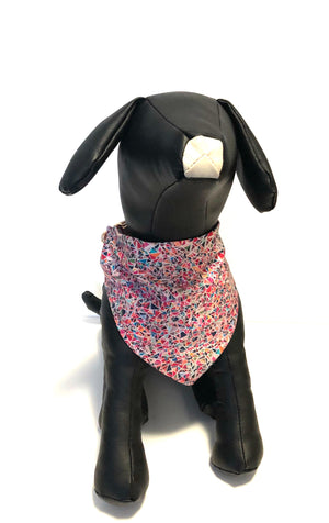 Watermelon Reversible Over Collar Dog Bandana