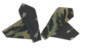 Warrior Arrow and Camouflage Over Collar Dog Bandana