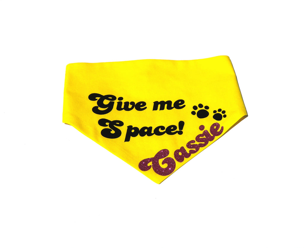 Give Me Space Snaps Bandana - Special Order