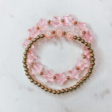 Load image into Gallery viewer, Name Bracelet- Pink Letters