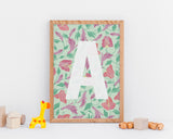 Wall Print - Customised Lilly Letter