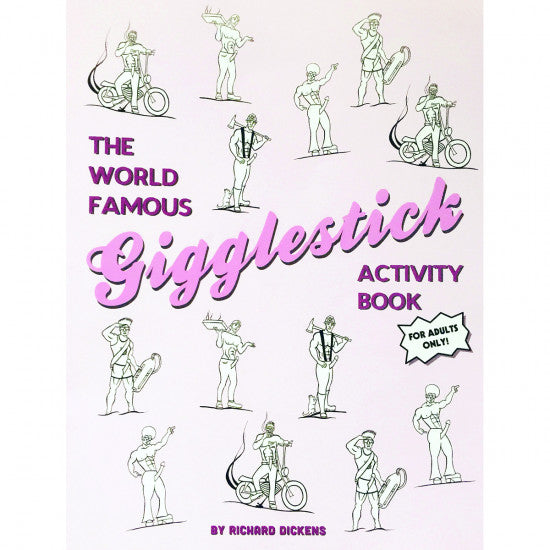 World Famous Gigglestick Activity Book