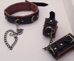 Brown and Black BDSM Accessories