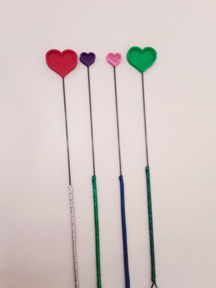 Heart On  Evil-Er Sticks