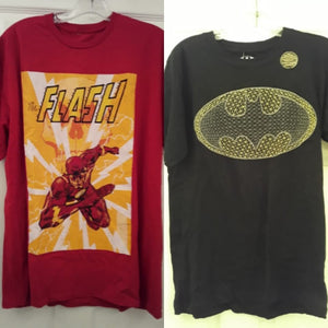 Batman and The Flash Shirts