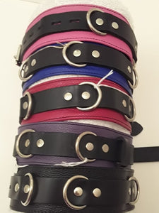 Locking Leather Collars