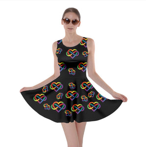 Poly Pride Skater Dress