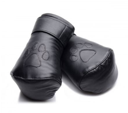 Leather Padded Pup Mitts