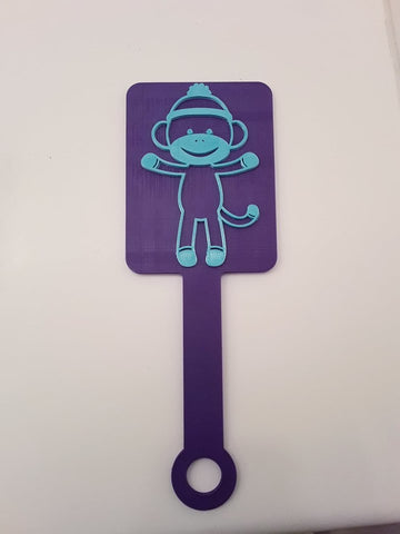 Sock Monkey Paddle