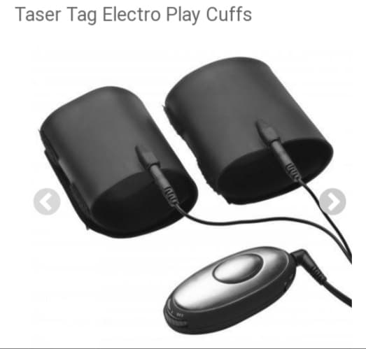Taser Tag Two Person TENS Unit