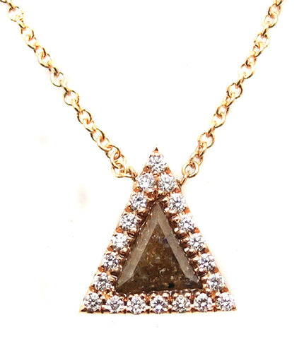 Diamond Slice pendant.