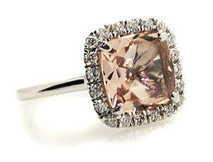 Morganite Ring.