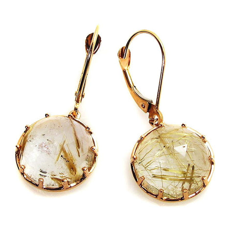 Rutilated Earrings