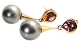 South Sea Pearl Earrings .