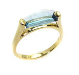 Blue Topaz Ring.