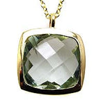 Green amethyst Necklace.