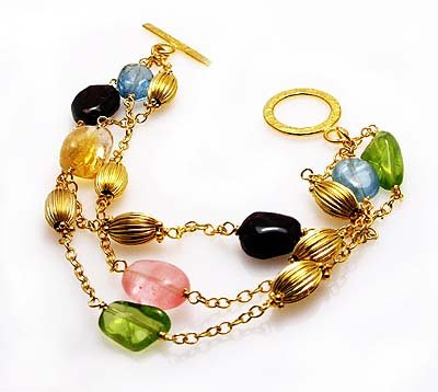 Multi color Bracelet .