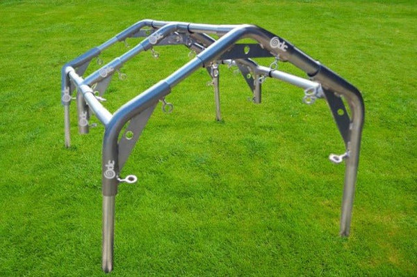 Odc Reinforced High Peak Canopy Fittings Kit With Eyebolts Greenhouse Heavy Duty Canopy Kits
