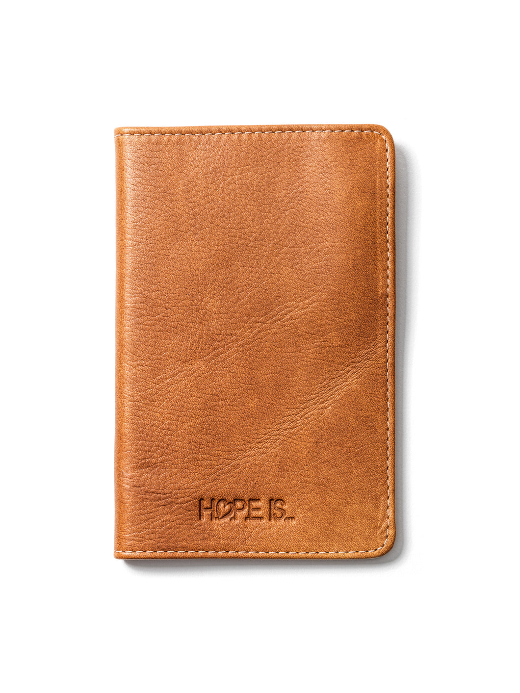 Igual (Equal) Brown Leather Passport Holder