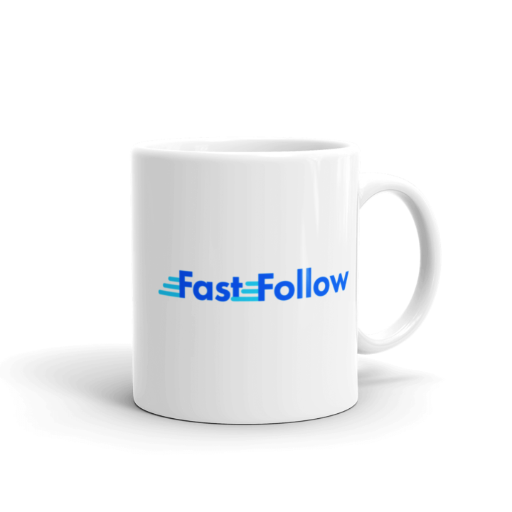Fast Follow Coffee Mug