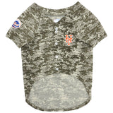 New York Mets Camo Dog Jersey