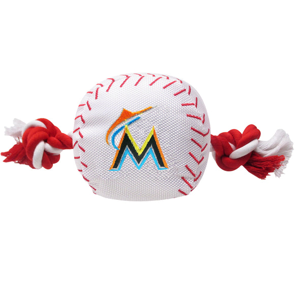 Miami Marlins Nylon Rope Toy