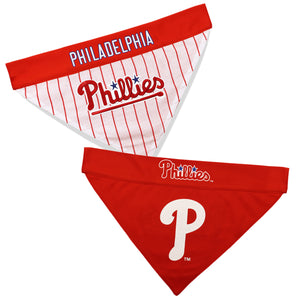 Philadelphia Phillies Dog Bandana - Reversible