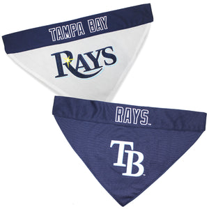 Tampa Bay Rays Dog Bandana - Reversible