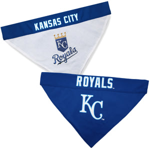 Kansas City Royals Dog Bandana - Reversible
