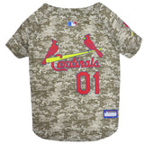 St. Louis Cardinals Camo Dog Jersey
