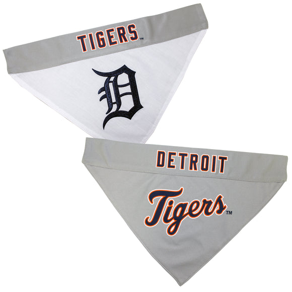 Detroit Tigers Dog Bandana - Reversible