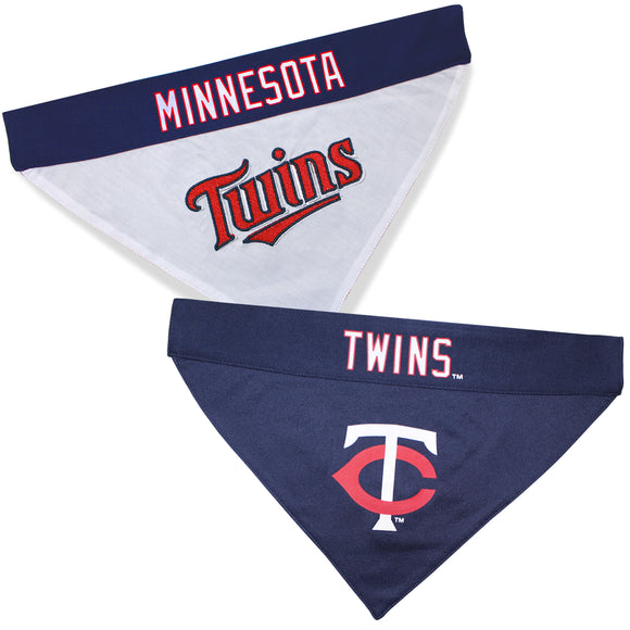 Minnesota Twins Dog Bandana - Reversible