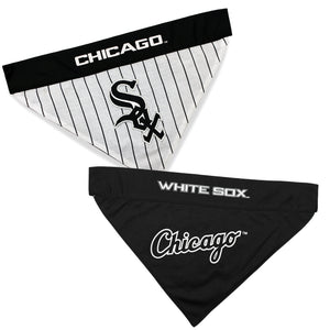 Chicago White Sox Dog Bandana - Reversible