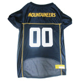 West Virginia University Mountaineers Dog Jersey