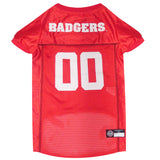University Of Wisconsin Badgers Dog Jersey