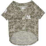 New York Yankees Camo Dog Jersey