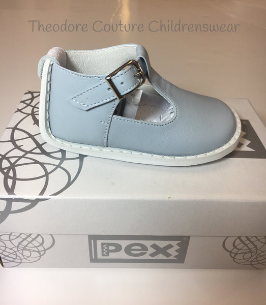 Pex Blue Stef Shoes – Theodore Couture
