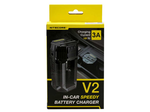 NITECORE V2 CAR BATTERY CHARGER