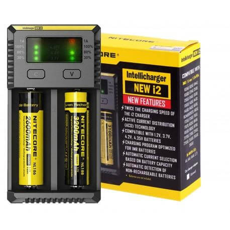 Nitecore Intellicharger New i2 Battery Charger