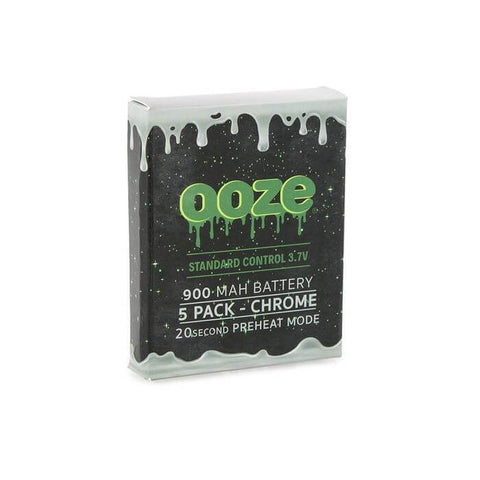 Image of OOZE TWIST BATTERY 1100mah & 9000mah ( 5 Pack )