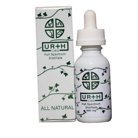 Image of Ur+h CBD Tincture Oil 1000 MG