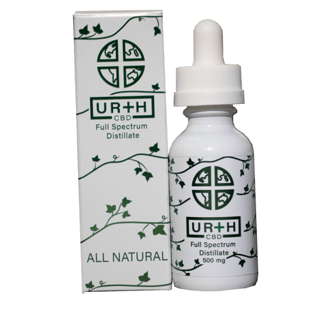 Image of Ur+h CBD Tincture Oil 500 MG