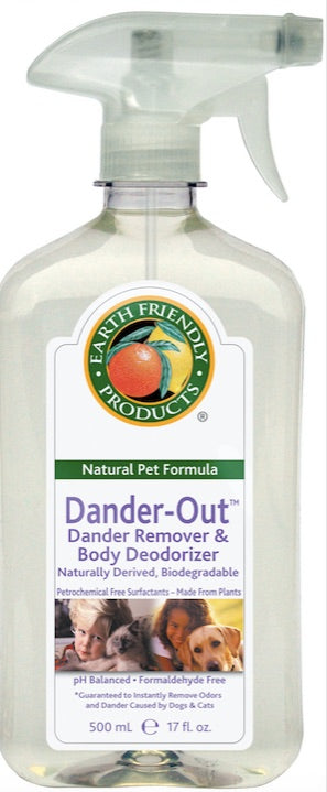 DANDER OUT & DEODORISER 500ml EFP