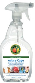 AVIARY CAGE CLEANER & DEODORISER 500ml EFP