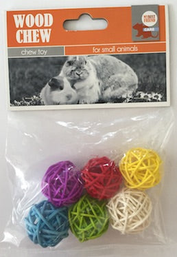CHEW TOY SISAL BALL SET