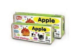 COMPRESSED WOODCHIPS APPLE SCENT 1kg
