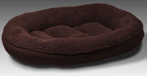 "BED OVAL 27"" CHOCOLATE BEAUTIFUL DREAMER"