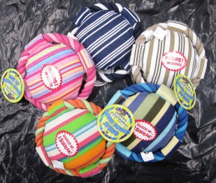 STRIPED CANVAS DISC ASST  SMALL