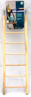 BIRD LADDER WOODEN 7 STEPS